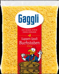Gaggli Buchstaben