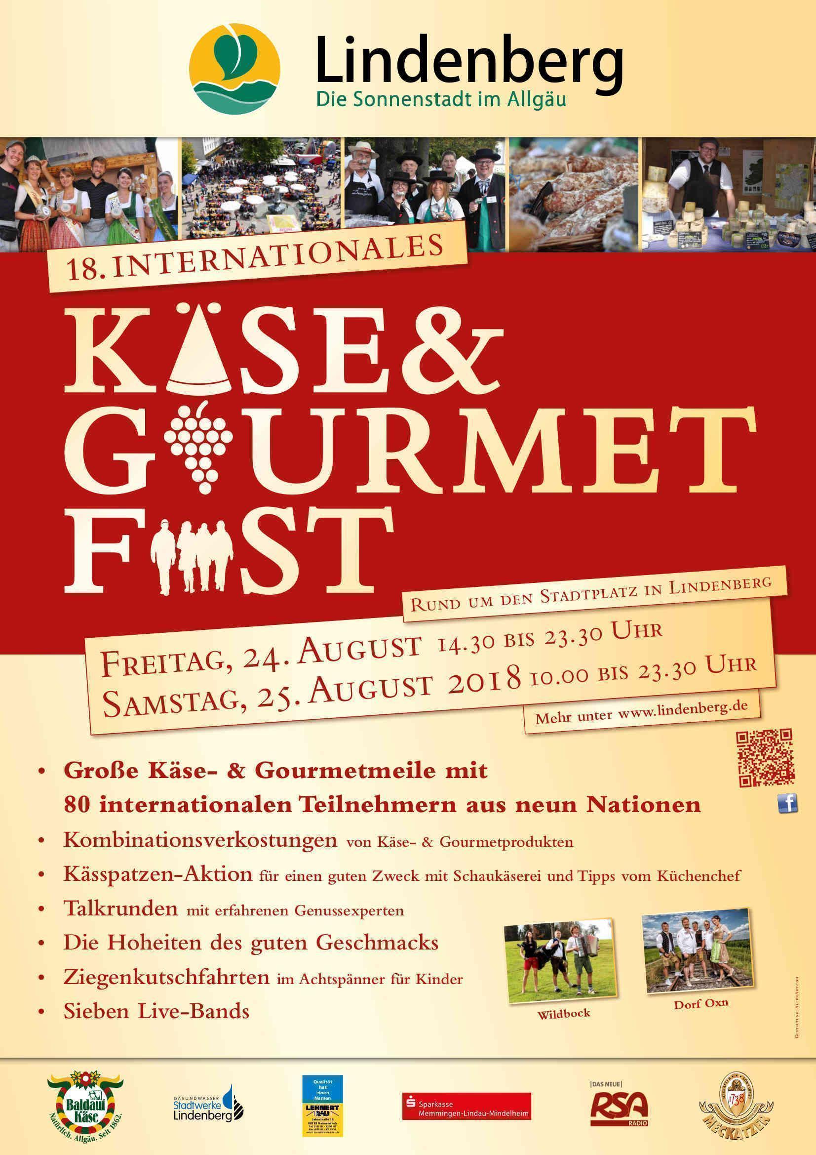 18. Käse und Gourmetfest in Lindenberg